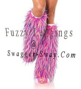 fuzzy leggings ad